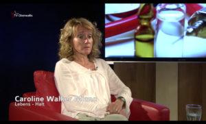 Caroline bei TV Oberwallis